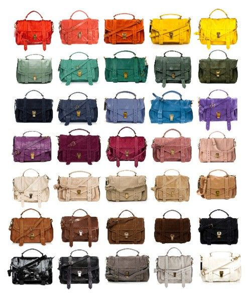 :: rainbow of proenza ::