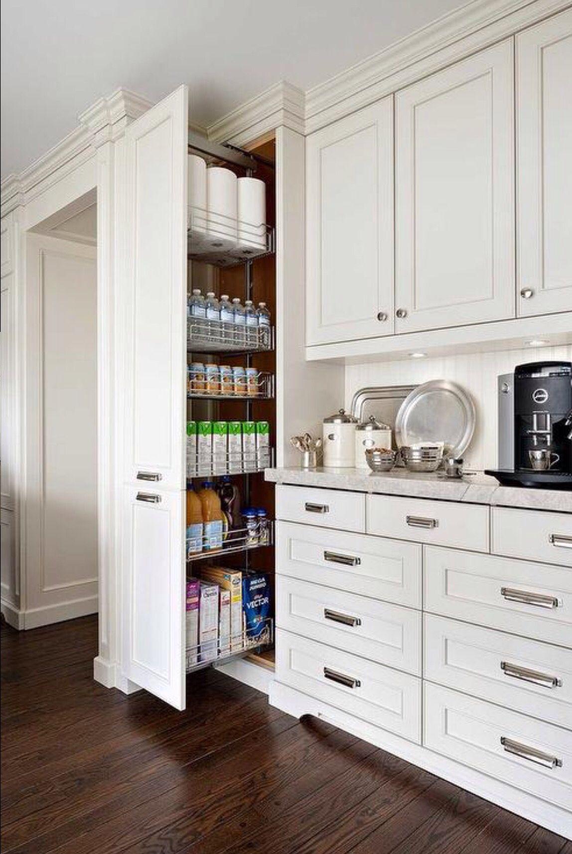 Storage solution Kitchen wall storage Kitchen
