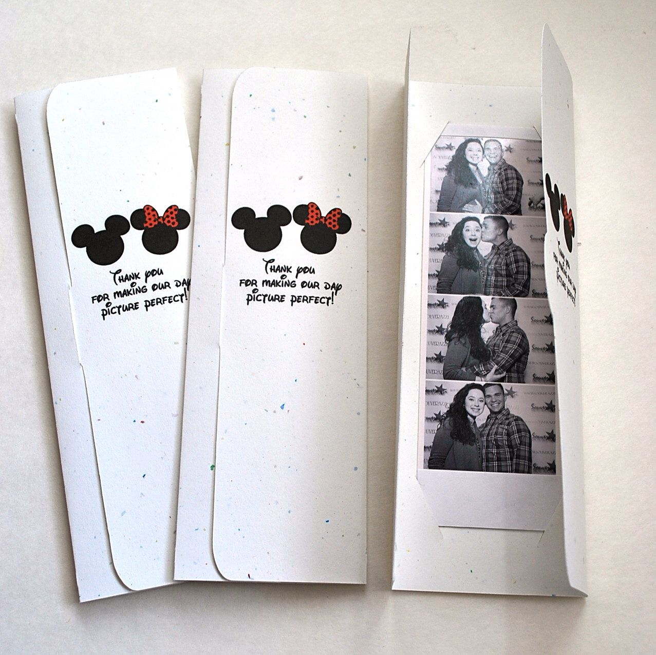 MOUSE EARS Themed Photo Booth Picture Holder Wedding Party
