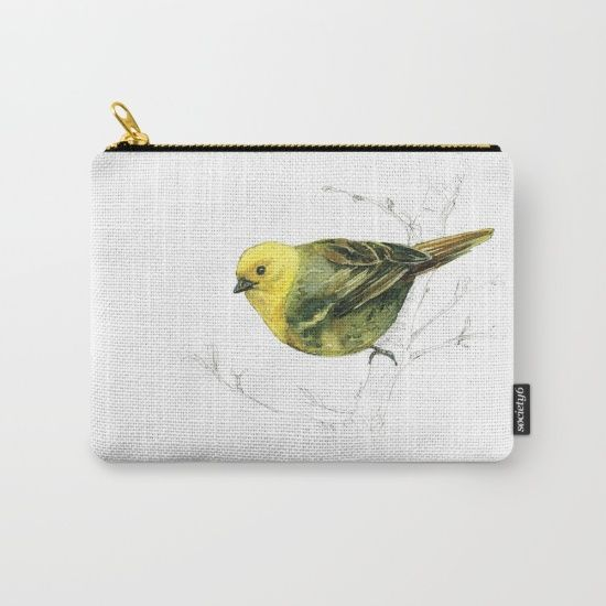 Mr Mohua , yellowhead New Zealand native bird Carry-All Pouch