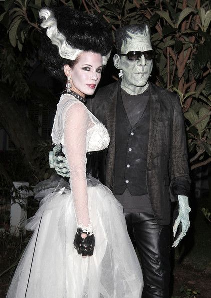 bride of frankenstein halloween costume idea get wedding dress and leather accessories from goodwill cheap and easy