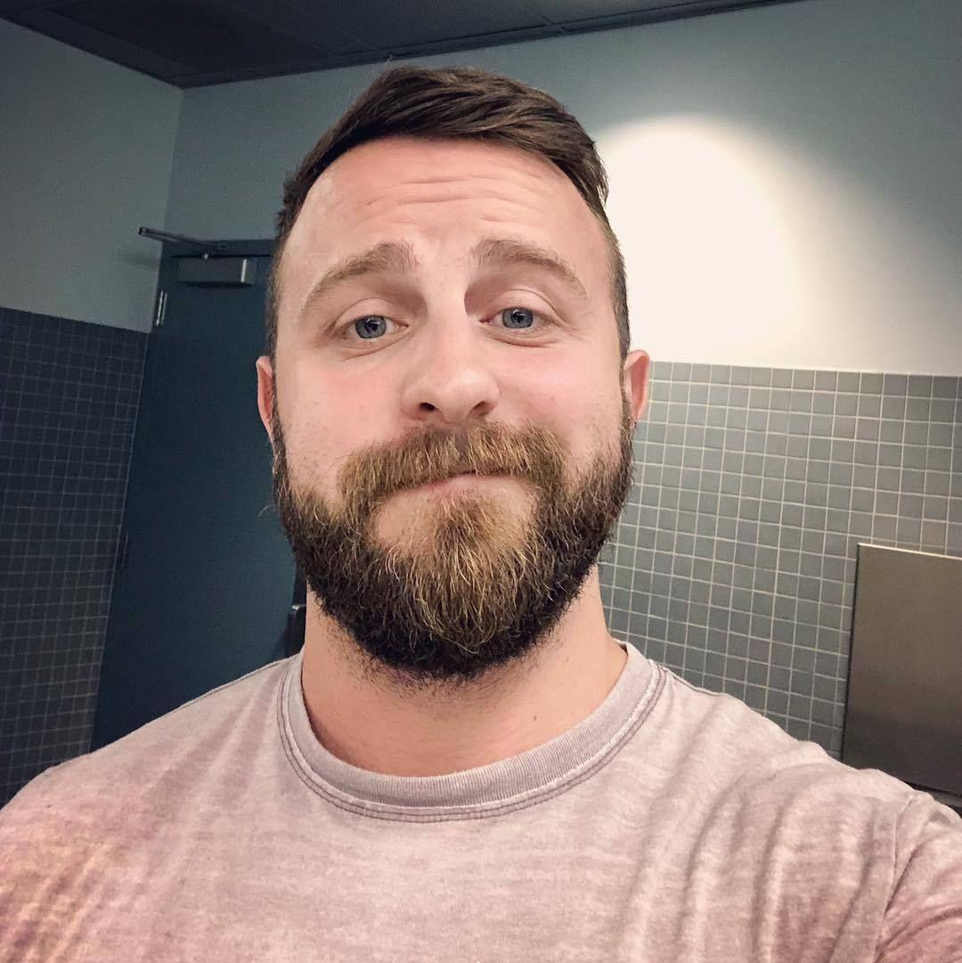 Guy With Beard Selfie | Beard on Brother