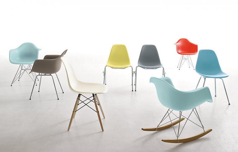Eames Dax Chair 1948 Design within Reach Chair, Ashley
