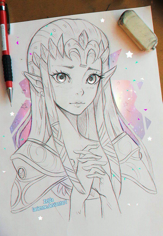 Zelda by larienne deviantart com on deviantart