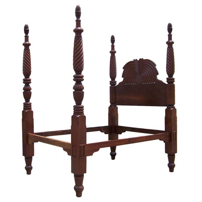 Modern Furniture Jamaica early 19th century jamaican regency mahogany pineapple bed