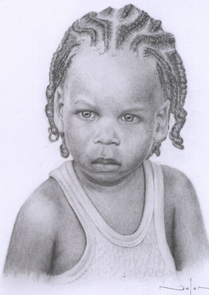 How To Draw Cornrows Free Online Art Lesson Pencil Drawings