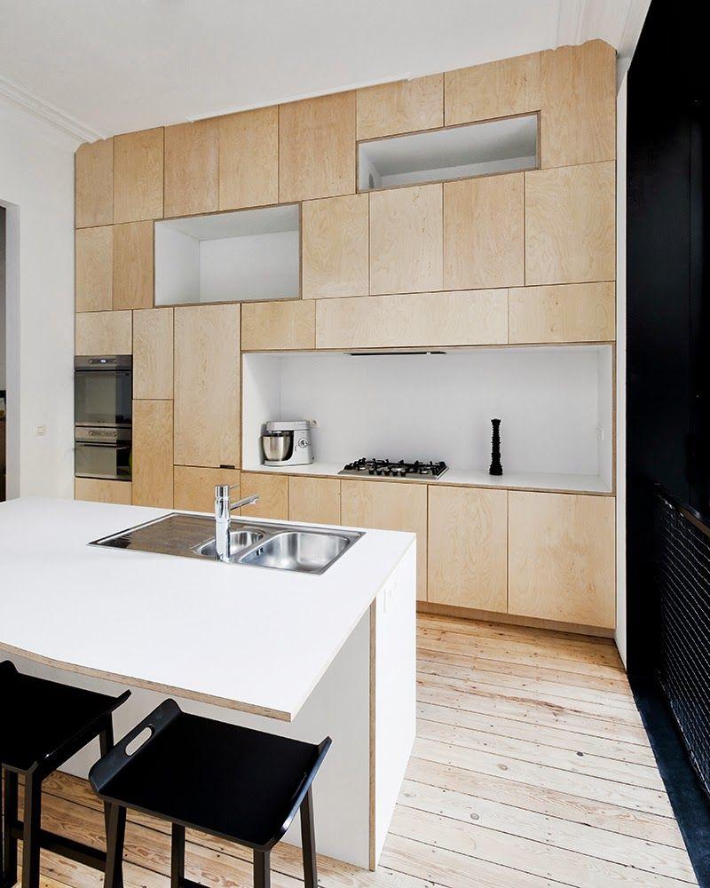 Plywood Wall Cabinet Plan: Plywood Kitchen, Kitchen Interior