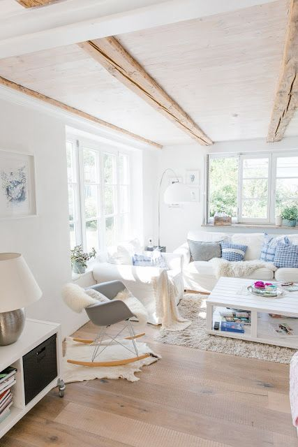 Scandinavian Home, Schwedisches Wohnen, Wohnzimmer