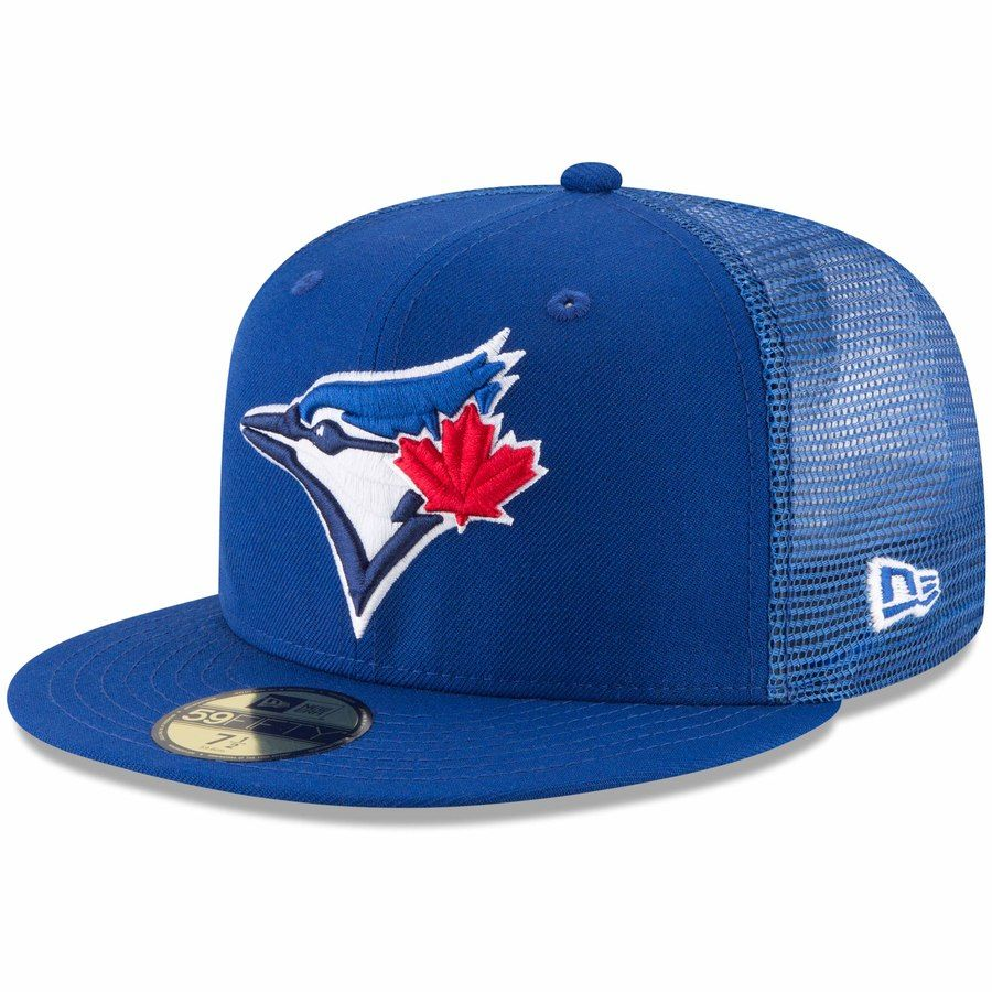 c31168b15 Men's Toronto Blue Jays New Era Royal On-Field Replica Mesh Back 59FIFTY  Fitted Hat