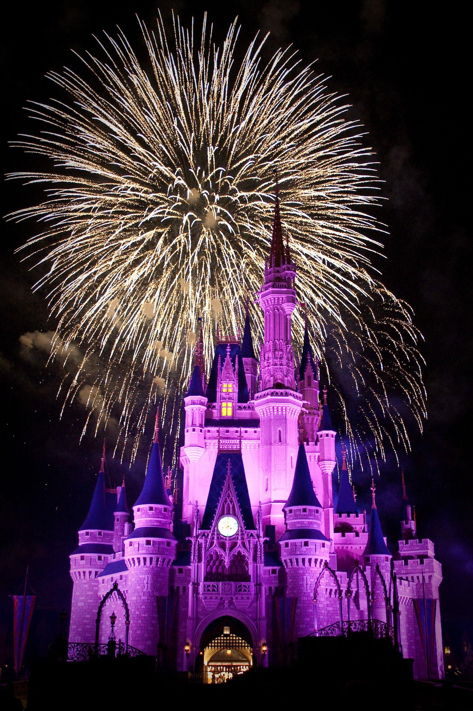 Walt Disney World Magic Kingdom Fireworks Wallpaper