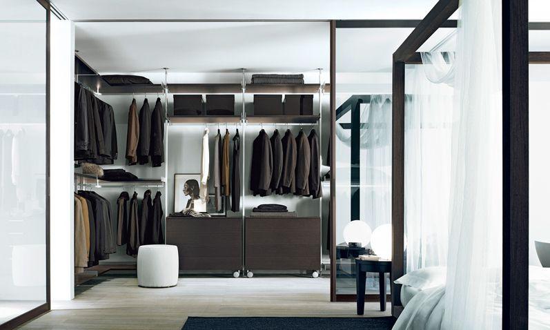 Aluminium Structure, Melamine Shelves And Drawers Units