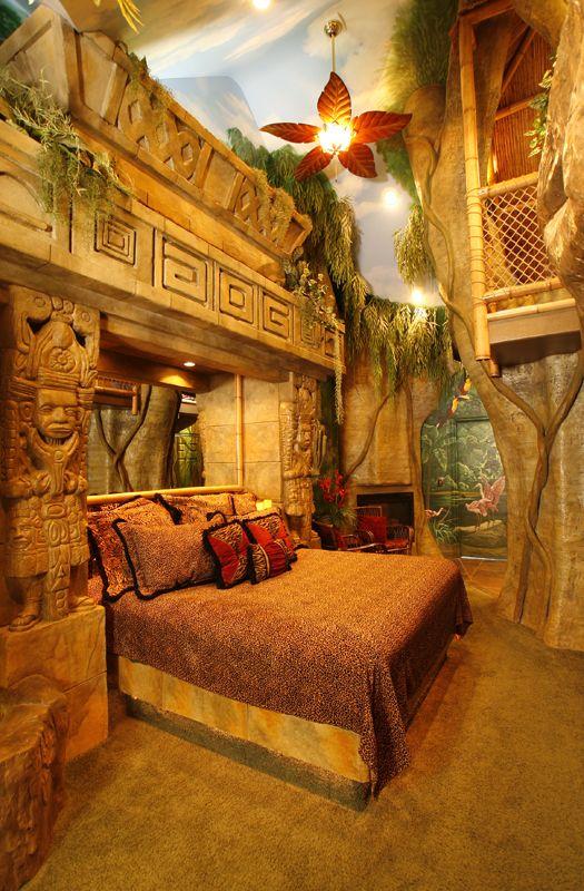 Mayan Rain Forest Hotel Room