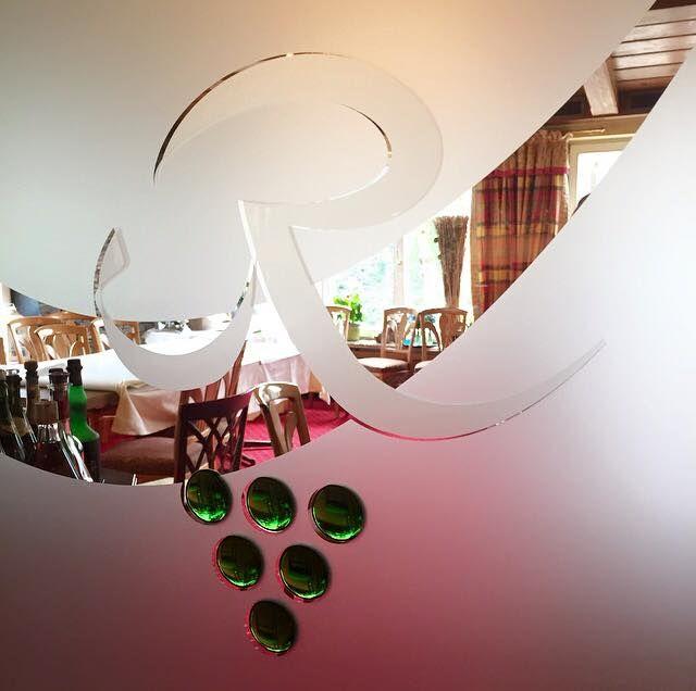Logo auf Glas Gastronomie Einrichtungen Pinterest - motive für küchenrückwand