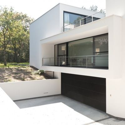 Best 25 fa ade villa moderne ideas on pinterest chalet for Facade villa moderne