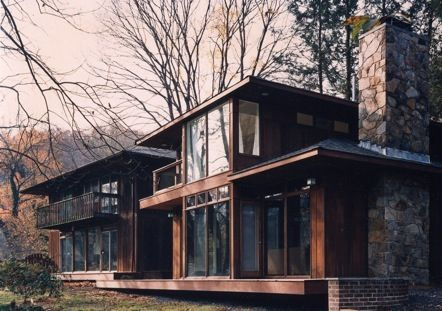 Contemporary house addition 2