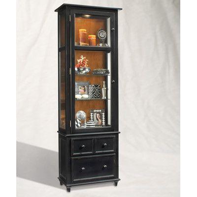 Philip Reinisch Co. ColorTime Vista Curio Cabinet ...