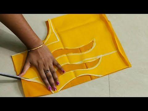 Lotus flower blouse design /kamal ke phool ka blouse design