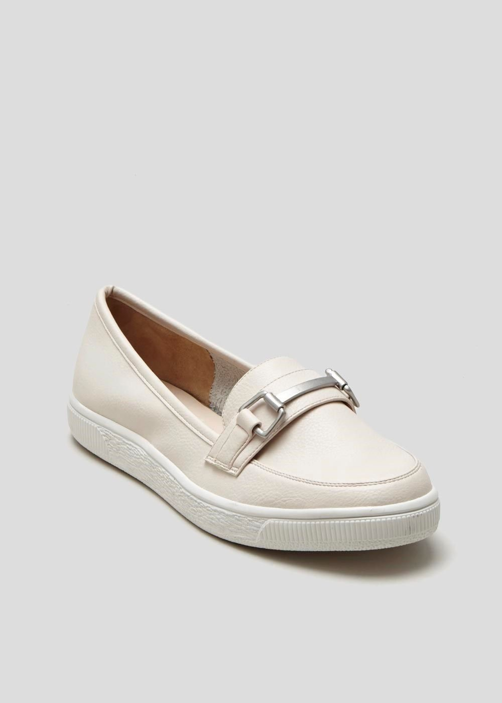 b3edf5ee0275 Sporty nude for non-trainer days. Bargain price! Snaffle Loafer ...