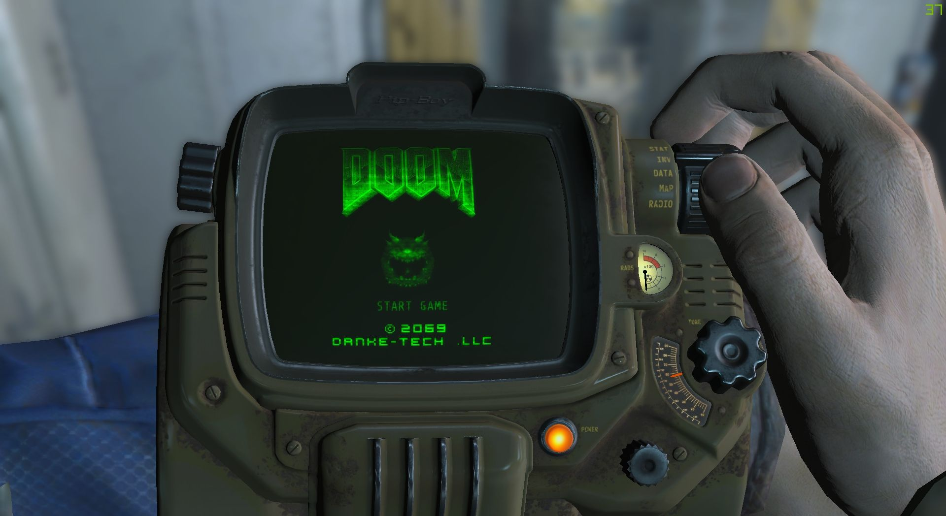 Doom is Now Playable On The Fallout 4 PipBoy | Fallout | Fallout 4