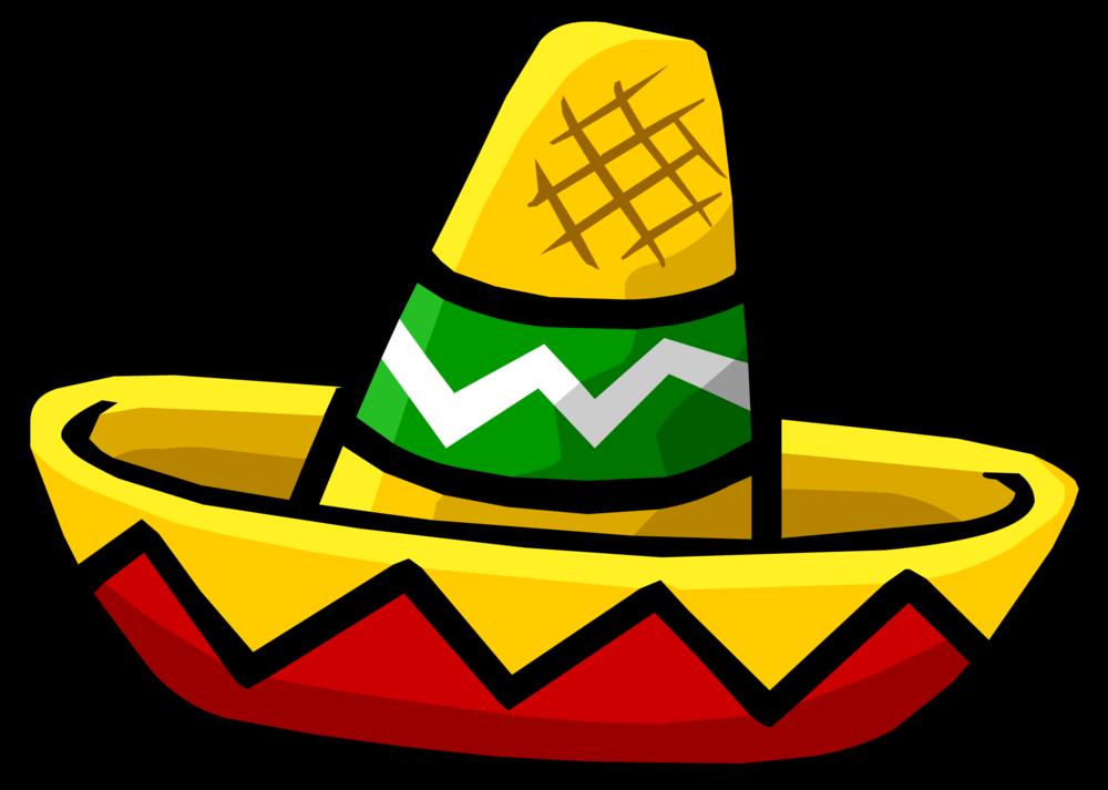 Mini Sombrero Club Penguin Wiki Fandom Sombrero Mexicano Gorro Mexicano Dibujos De Sombreros