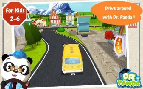 Dr. Panda's Bus Driver - Android version - a set of simple activities related to a bus driver's work. Original Appysmarts score: 83/100