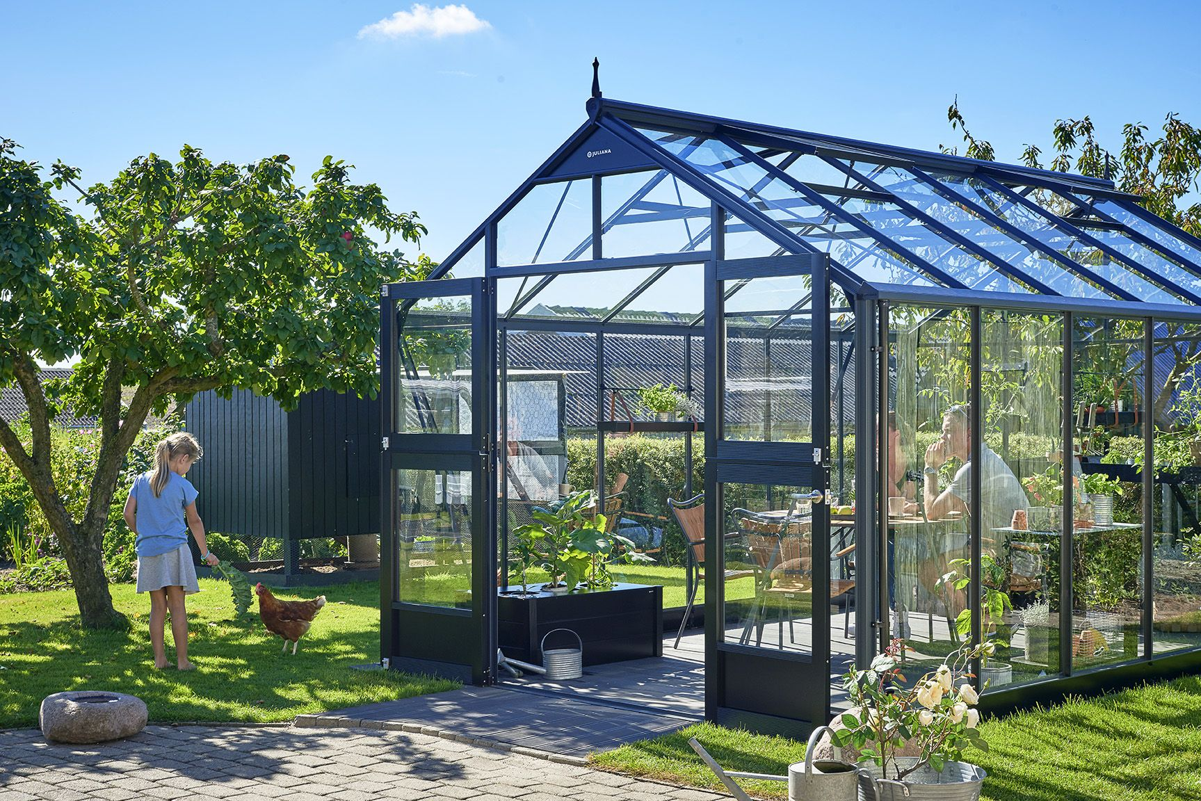 The best selling Juliana Premium greenhouse | Juliana ...