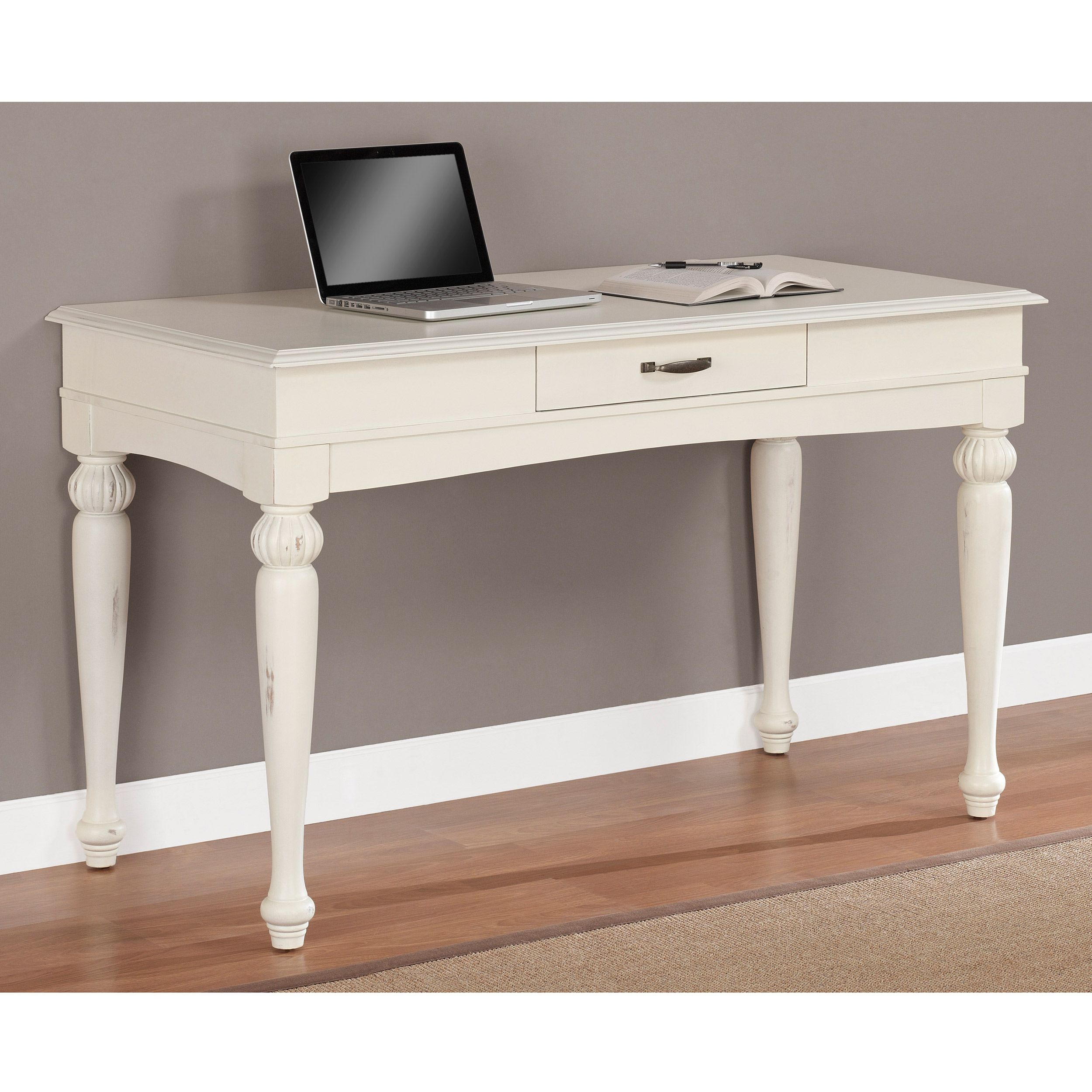 $261  Vanilla Wasatch One Drawer Desk  Overstock Shopping