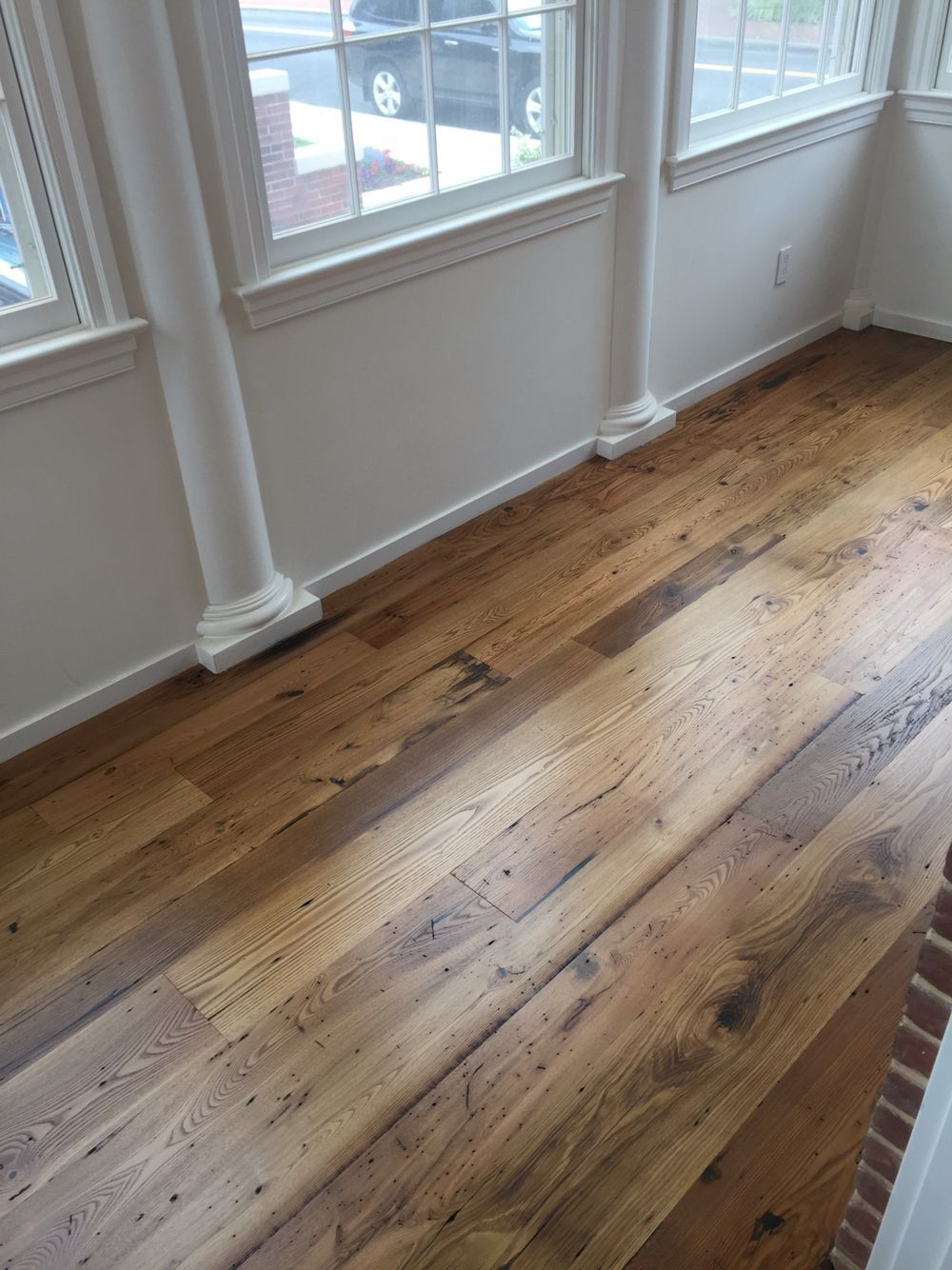 Wide Plank Reclaimed Chestnut Flooring