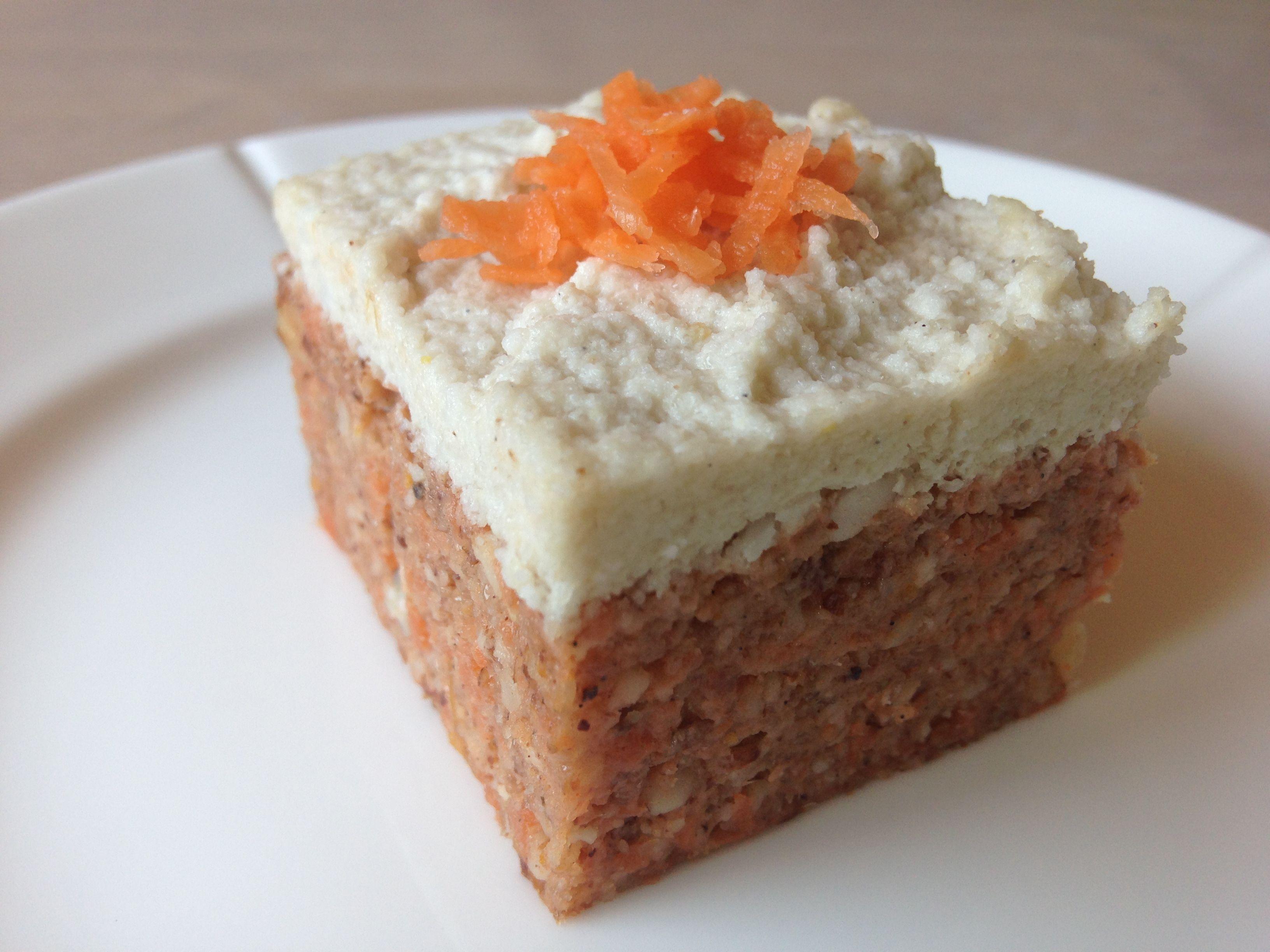 raw food gulerodskage