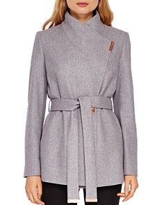 separation shoes brand new watch Ted Baker - Keyla Short Wrap Coat | coats, jackets, trenches ...