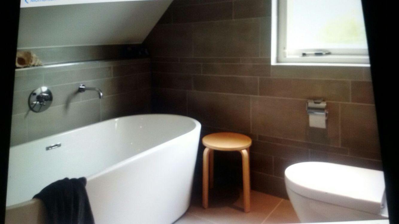 Tegelstroken badkamer | Badkamer tegels | Pinterest