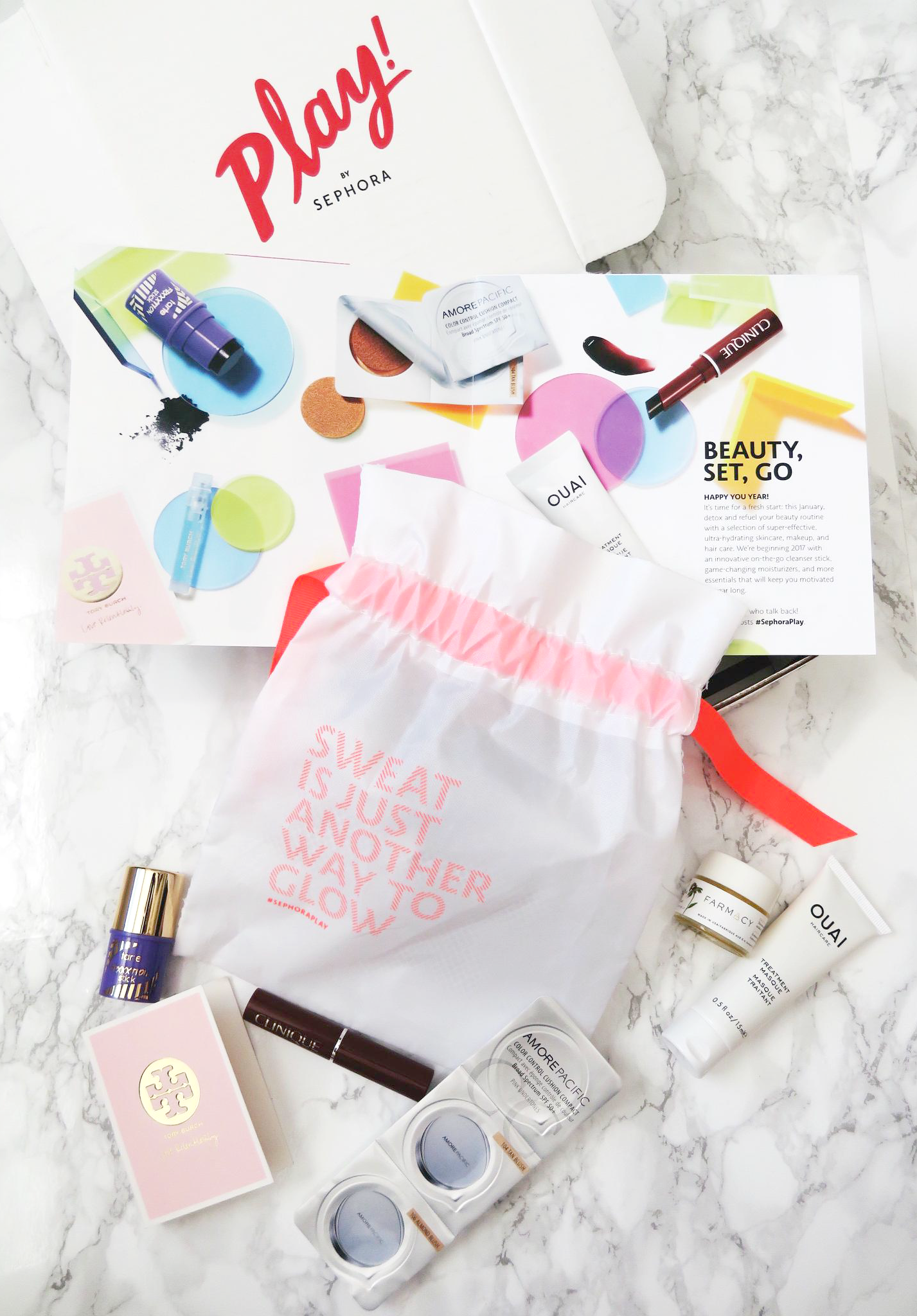 Play! by Sephora January Review Subscription boxes for