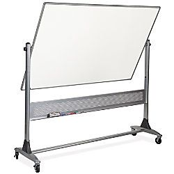 Best Rite Dura Rite Reversible Dry Erase Board Porcelain 48 x 72 White Silver Frame by Office Depot & OfficeMax $760