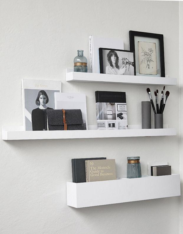 home wall decoration i regal bildleiste ablage home inspiration pinterest ablage regal. Black Bedroom Furniture Sets. Home Design Ideas