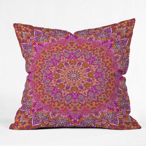 Aimee St Hill Farah Blush Throw Pillow | DENY Designs Home Accessories