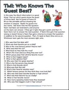 Adult 40th birthday party games