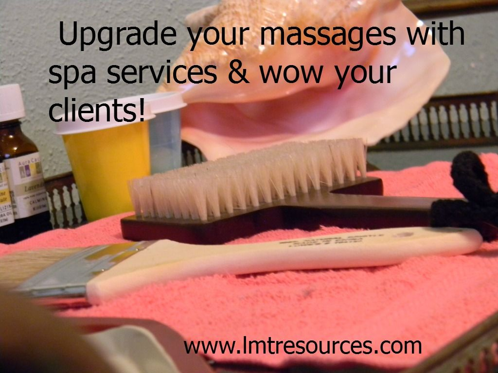 Upgrade your massages with spa services and wow your