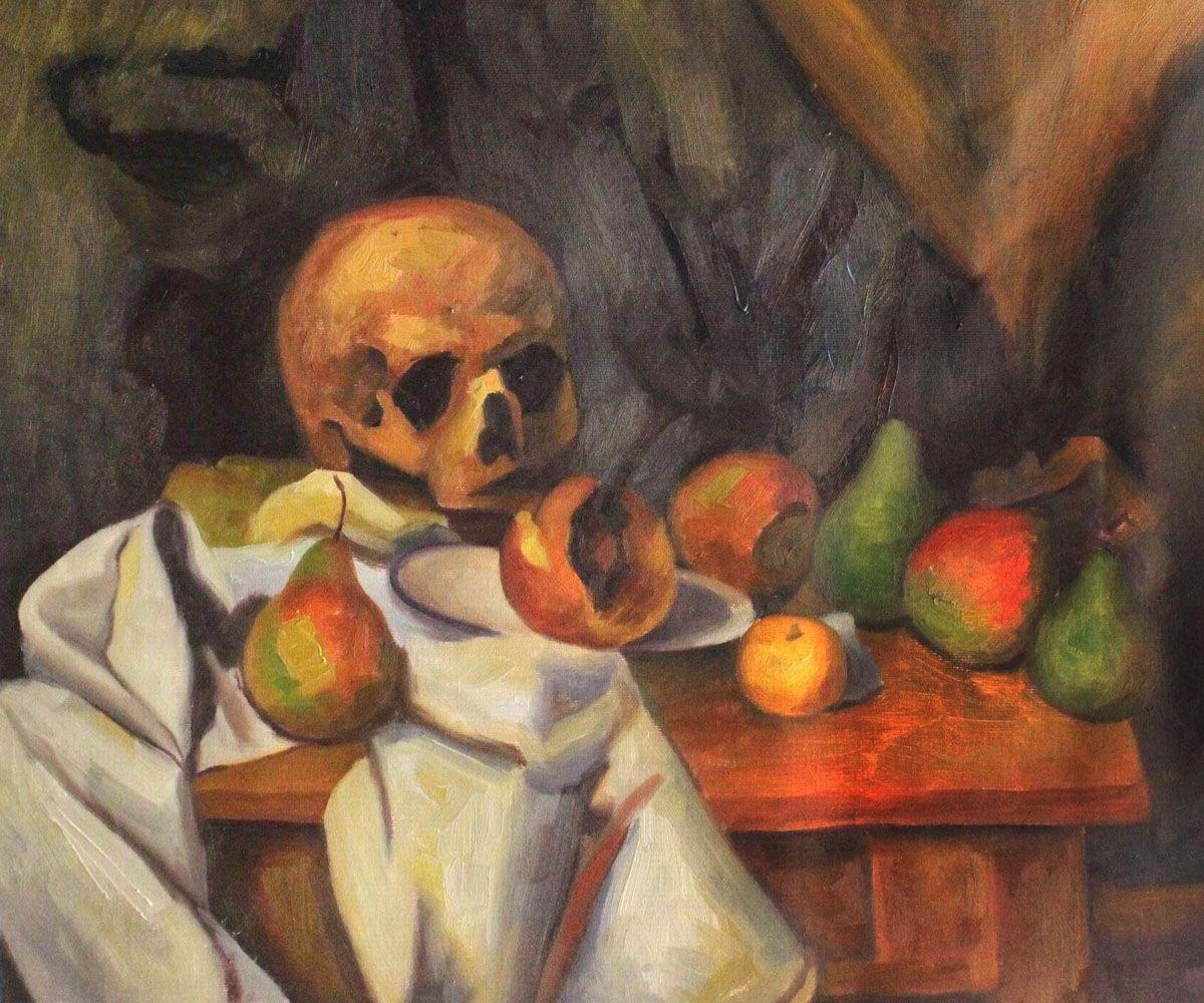 Nature Morte au Crane - Paul Cezanne Painting | Art | Paul cezanne, Painting, Paul cezanne paintings