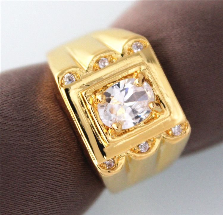 Find More Rings Information about vintageSilver 18k Gold Ouro Anel ...