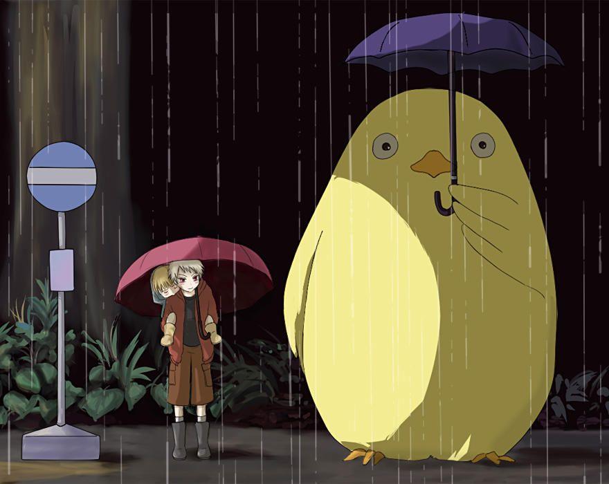 [Image - 641051] | Totoro Bus Stop Parodies