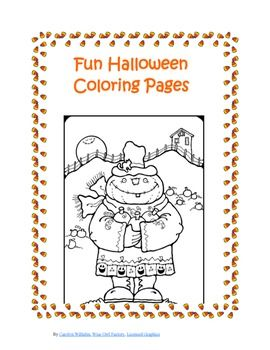 Free Halloween Coloring Pages On Tpt Free Free Halloween Coloring Pages Halloween Coloring Pages Free Christmas Coloring Pages