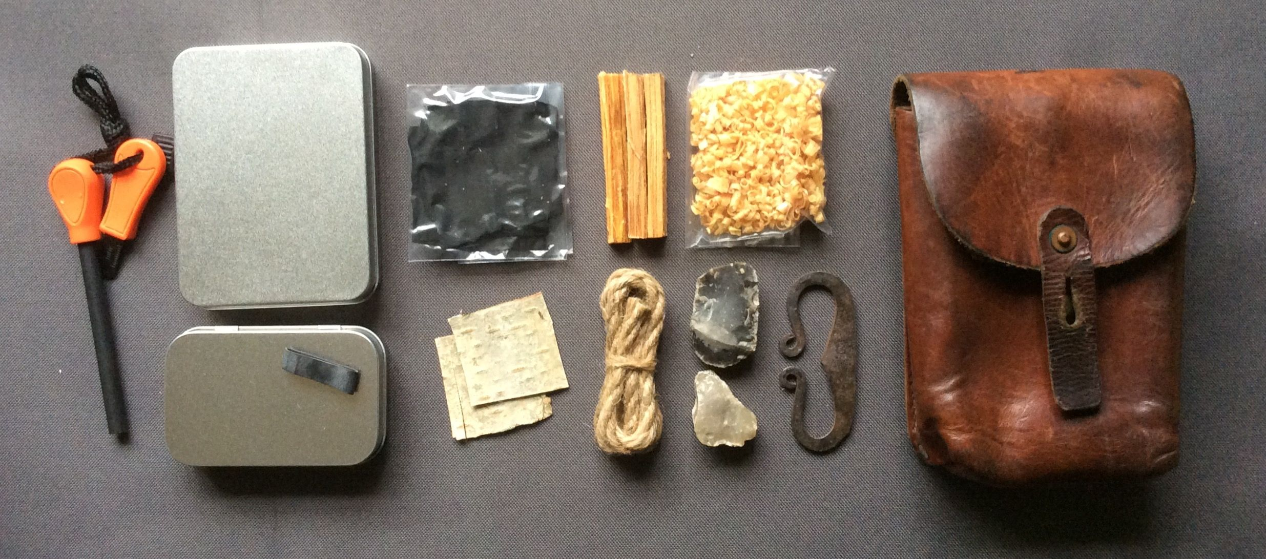 Large fire kit from ST Leatherworks