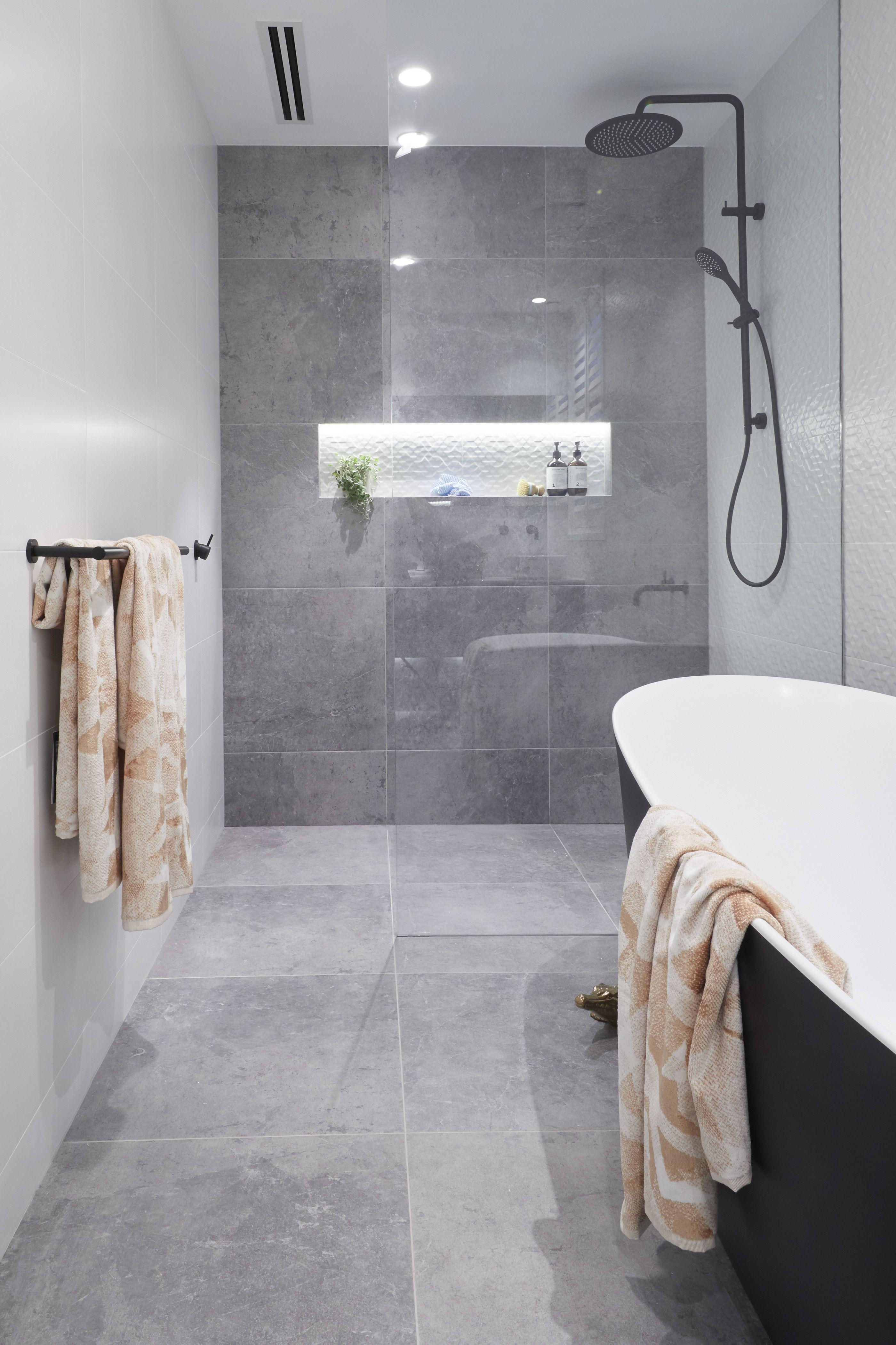 Hayden And Sara Challenge Apartment Main Bathroom The Block 2018