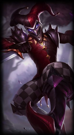 Shaco The Demon Jester Animation Madness Pinterest League Of