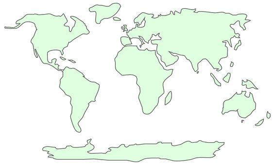 World Map Template Decorations Pinterest Printable: World Map Stencil Printable At Slyspyder.com