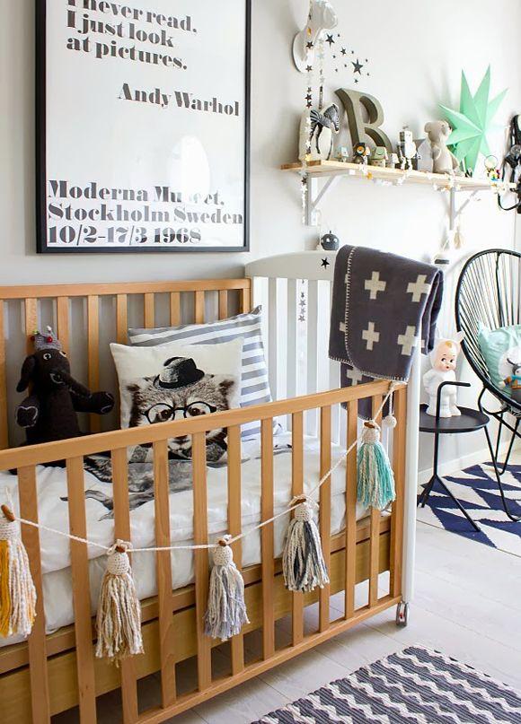 Décoration chambre bébé, petit garçon, choix couleurs chambre bébé