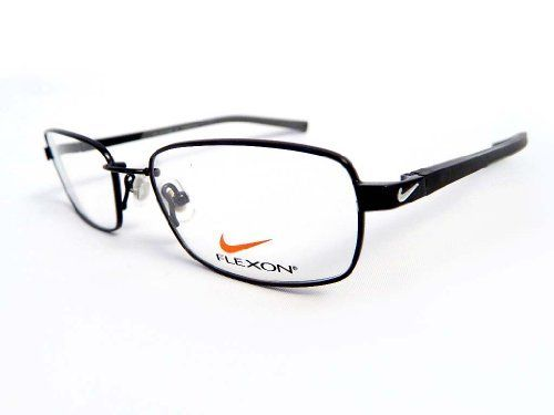 new nike rx prescription flexon eyeglass frame 4181 001 black chrome by