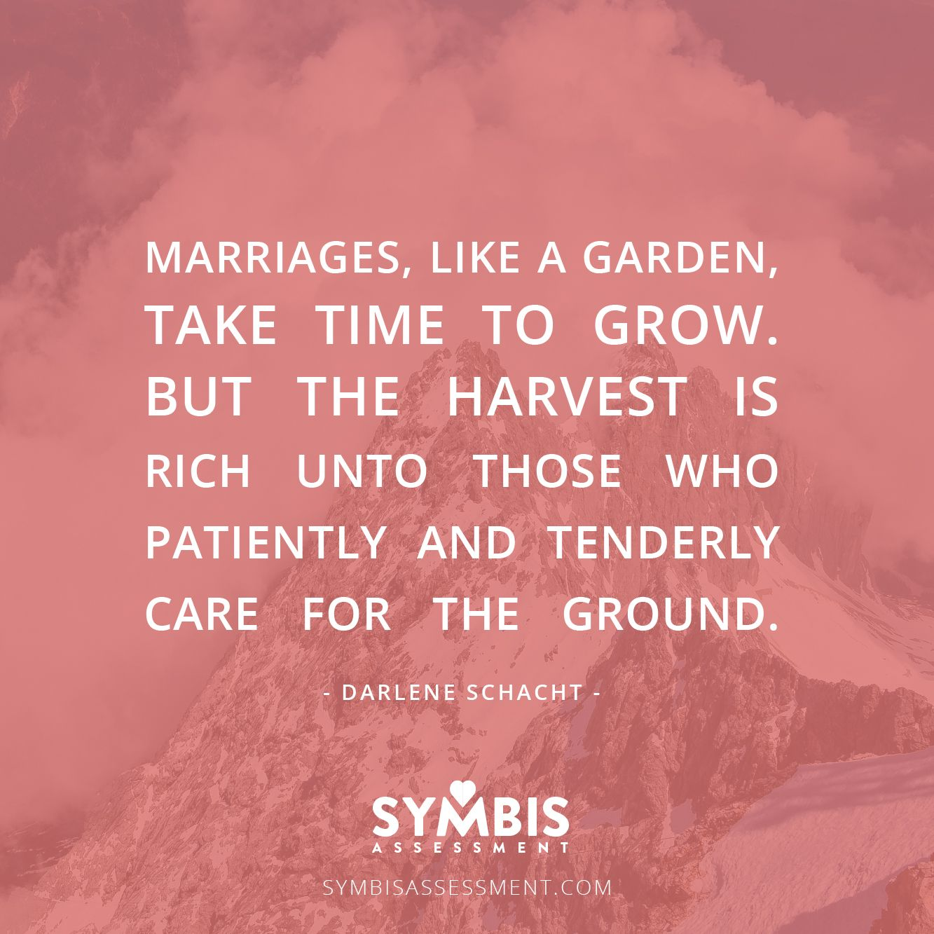 Marriage Is Like A Garden. #love #marriage #SYMBIS