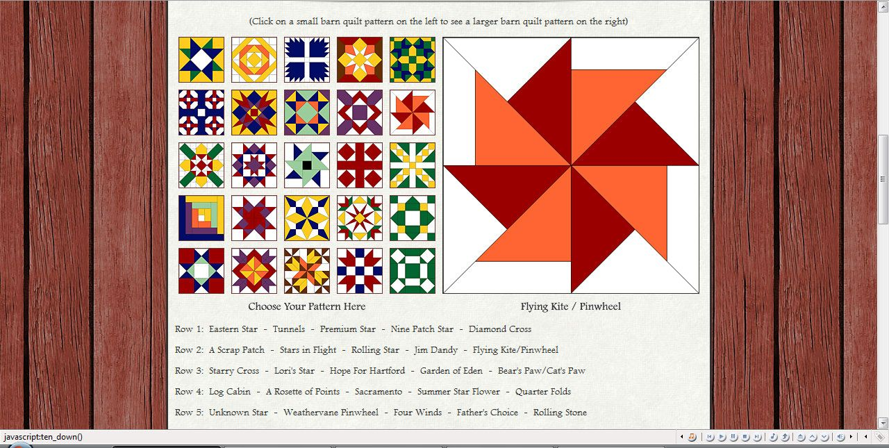 Will Be Making A Barn Quilt For Our House Hopefully In