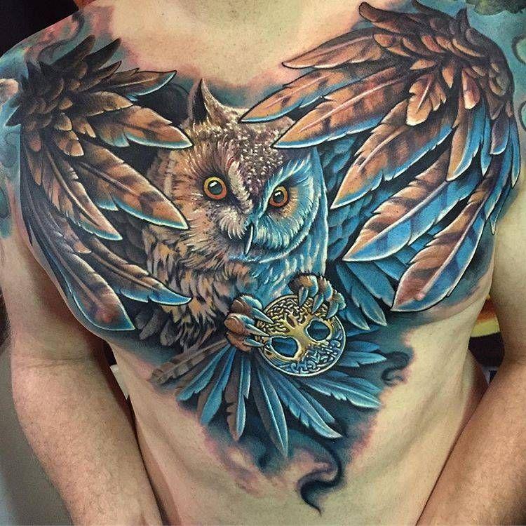 Pin En Buhos Tattoo